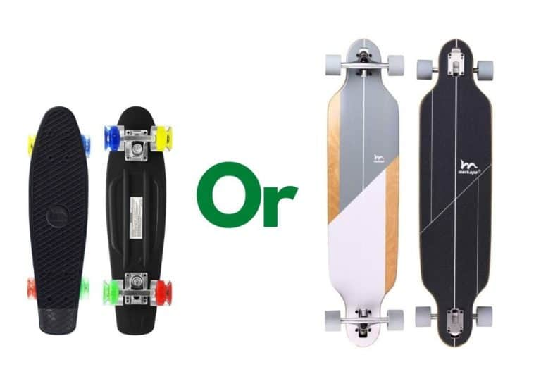Is skateboarding or longboarding easier