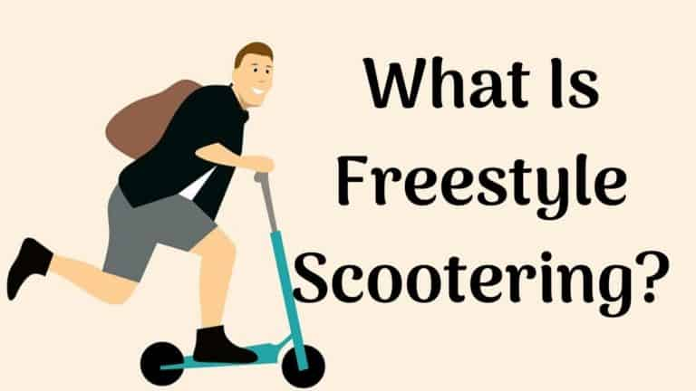 What Is Freestyle Scootering