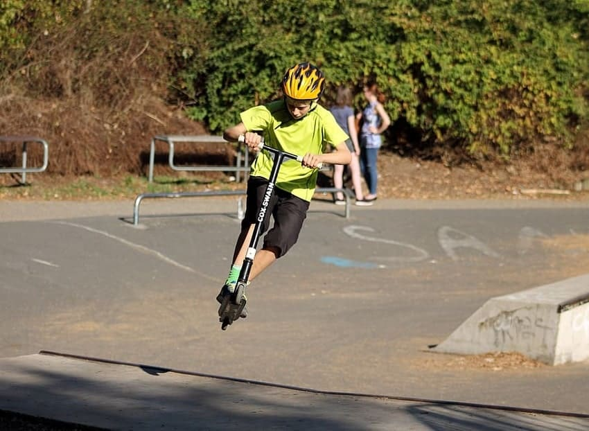 freestyle scooter tricks for beginners