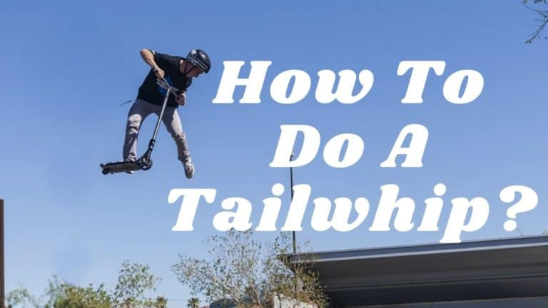 How To Do A Tailwhip On A Scooter easy