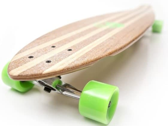 White Wave Bamboo Longboards for you