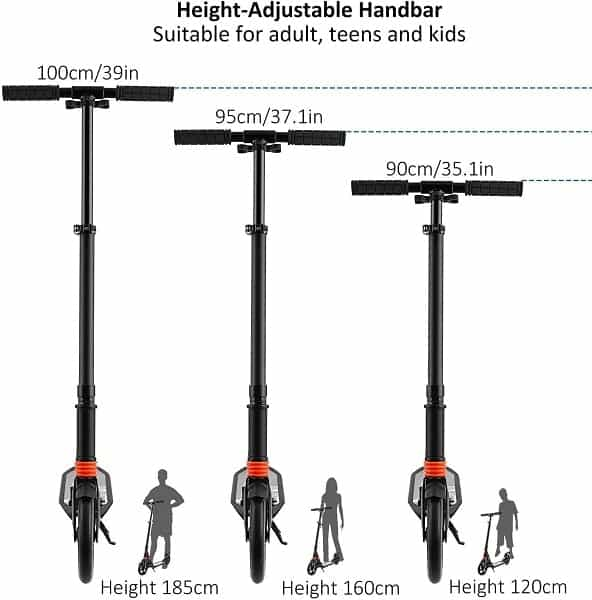 hikole kick scooters for adults