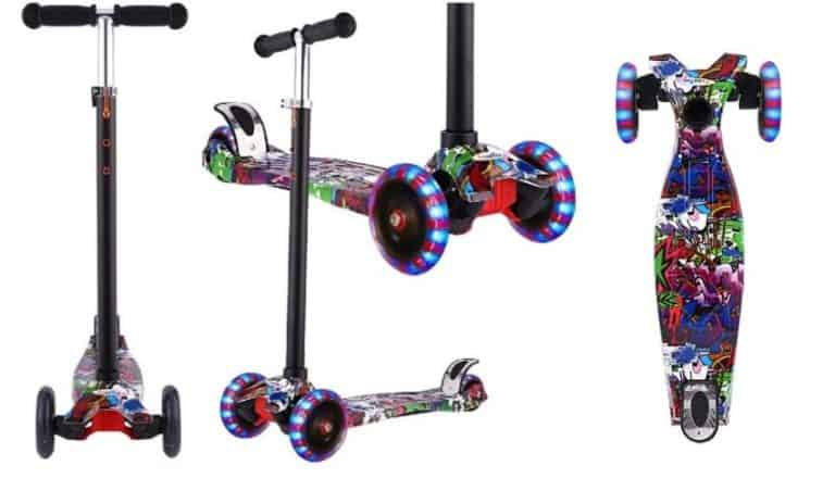 hikole kick scooters for toddlers
