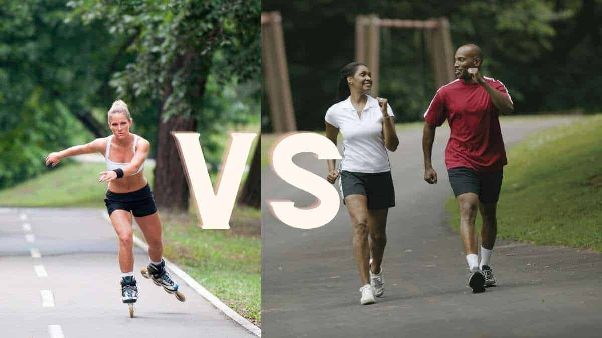 Is Rollerblading Or Walking Better?