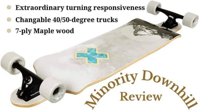 minority downhill maple longboard 40 inch drop deck review
