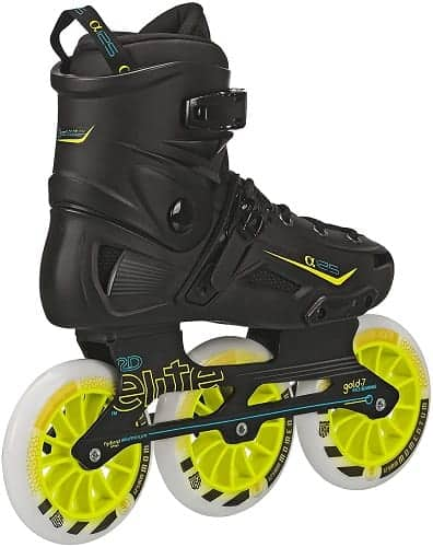 roller derby elite alpha 125mm 3 wheel inline skate
