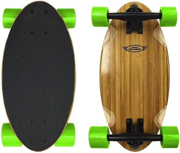 EasyGoProducts Mini Cruiser Wood Longboard