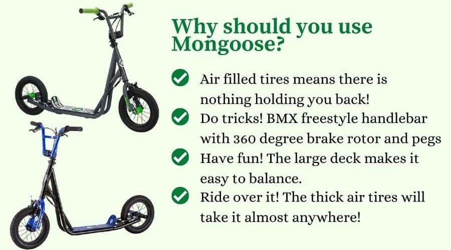 Mongoose expo scooters