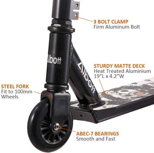 albott stunt scooter fork