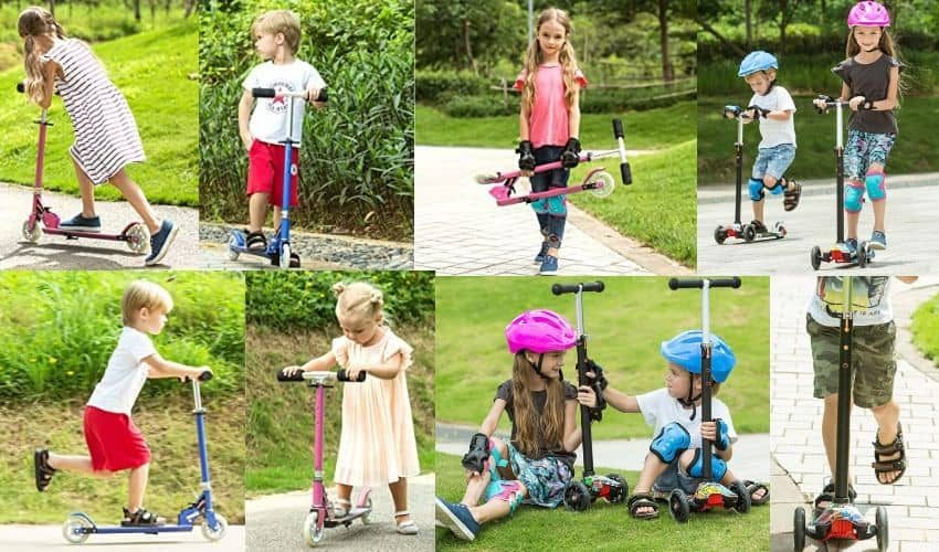 hikole scooters for toddlers