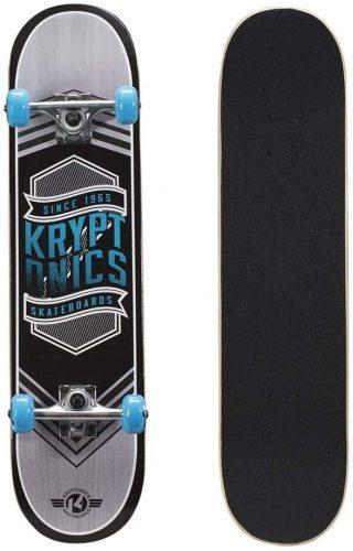 kryptonics drop in skateboard