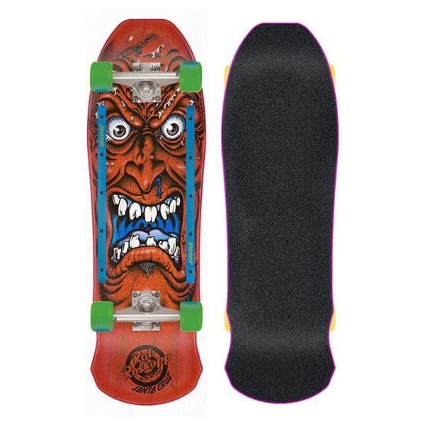 santa cruz rob roskopp face skateboard