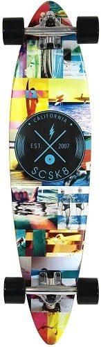 scsk8 natural longboard